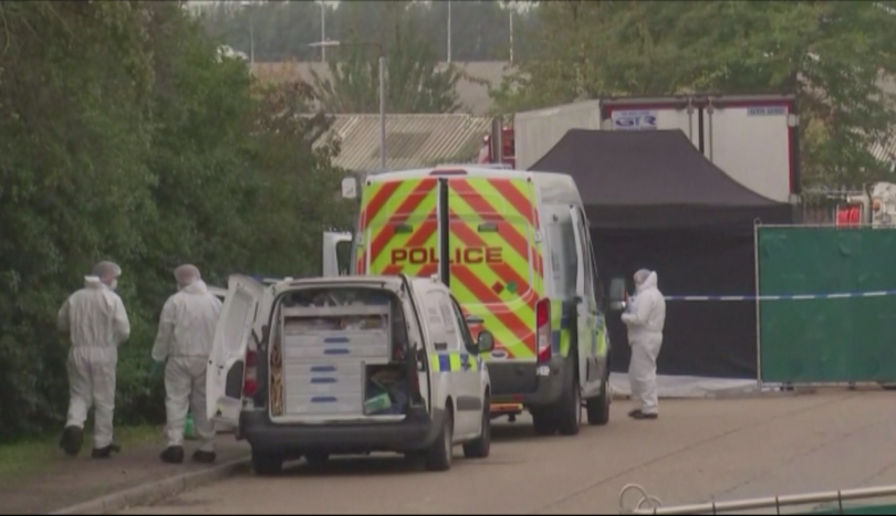 От Българското посолство в Лондон съобщиха, че камионът