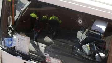 Психично болен създаде безредици с откраднат камион в Барселона
