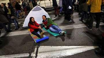 Национален протетст срещу забраната за къмпингуване