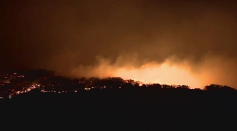 Снимка: Нов горски пожар избухна на остров Гран Канария
