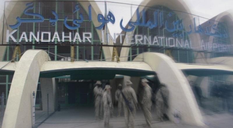 Базата на международната коалиция на летище Кандахар, Афганистан, беше подложена