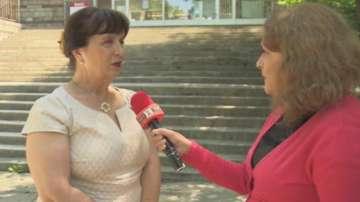 Ваня Кастрева пред БНТ за кандидатстването след 7. клас