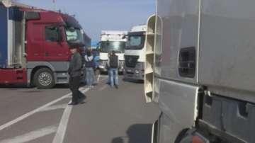 Блокадата на ГКПП Капитан Петко Войвода край Свиленград