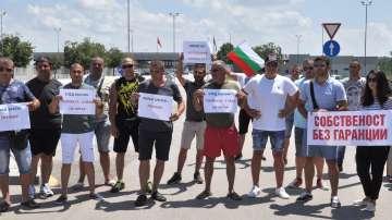 Представители на малки бензиностанции блокираха ГКПП Капитан Андреево