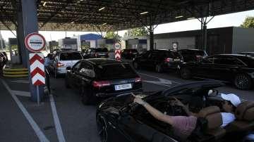 Рекорден брой автомобили са преминали през граничен пункт Капитан Андреево