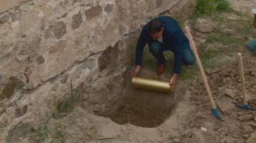 В Централния площад на Пловдив вградиха капсула на времето