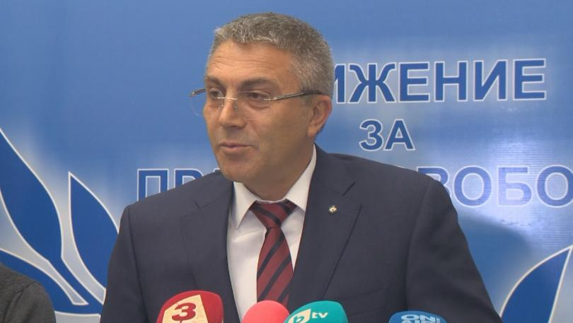 Председателят на ДПС Мустафа Карадайъ заяви на пресконференция след края