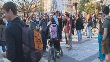 Протести против застрояването на Карадере в страната
