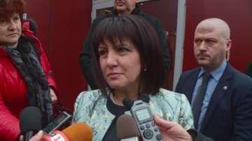 Караянчева отговори на опозицията за разходването на бюджетния излишък