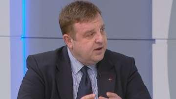 Каракачанов: Призовавам партиите да седнат на една маса, а не само да се плюят