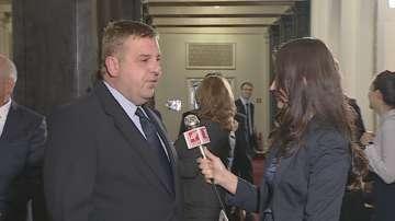 Каракачанов: Няма никаква договорка за министерски постове към момента