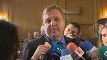 Каракачанов: Ние сме против Истанбулската конвенция и няма да я подкрепим