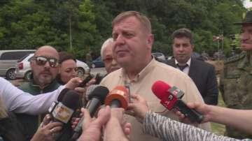 Красимир Каракачанов: Управлението остава стабилно