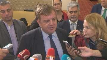 Каракачанов: Американски компании имат интерес да инвестират в отбраната у нас
