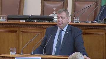 Каракачанов: Преговорите със САЩ за изтребителите продължават