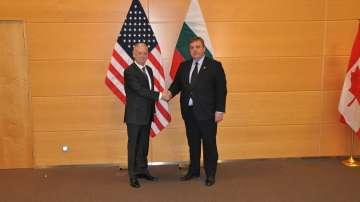 Среща на министрите на отбраната на България и САЩ