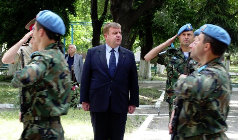 военният министър каракачанов посети бригада специални сили пловдив