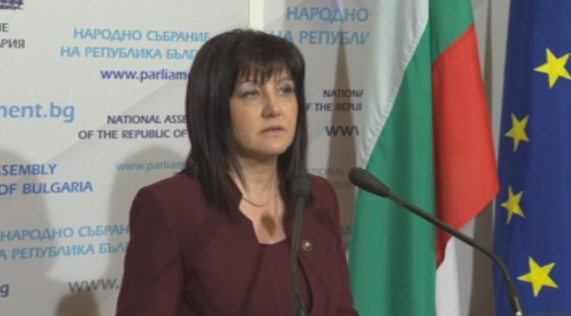 Караянчева: Банов не трябва да подава оставка преди проверката от прокуратурата