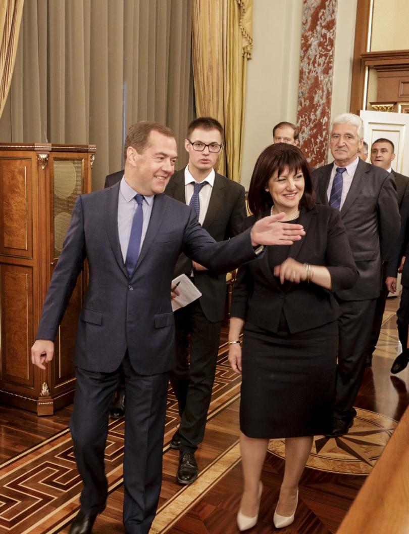 """снимка 1 Медведев: """"Росатом"""" ще се включи в избора на инвеститор за АЕЦ """"Белене"""""""