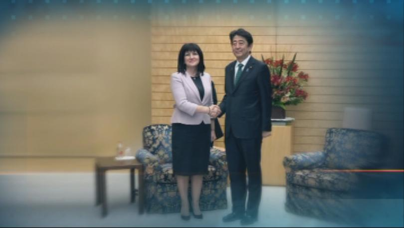 Цвета Караянчева се срещна с японския премиер в Токио