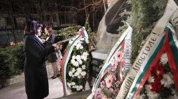 Председателят на НС се включи във възпоменателната церемония за Левски в Петрич