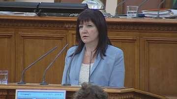 Цвета Караянчева изпрати съболезнования на председателя на албанския парламент