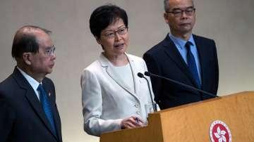 Законопроектът за екстрадиция в Хонконг ще бъде отменен през октомври