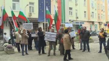 Жители на Куртово Конаре протестираха срещу кариера за мрамор