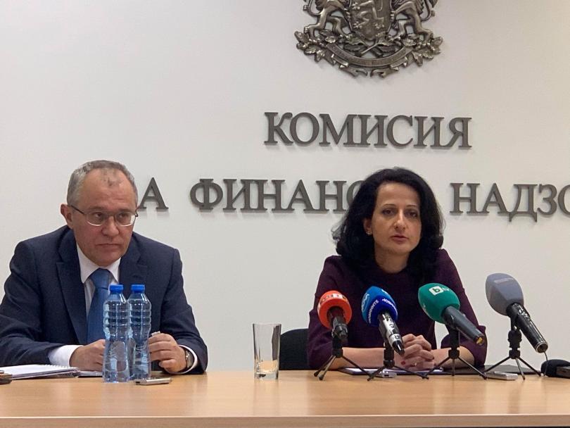 Председателят на Комисията за финансов надзор Карина Караиванова се отказа