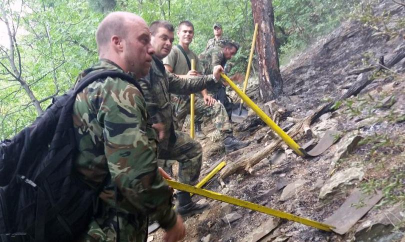 Пожарът в местността Боров триъгълник над Карлово вече е овладян.
