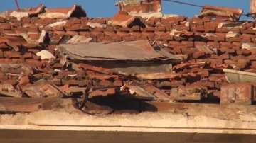 Описват щетите в Карлово и Смолян след ураганните ветрове