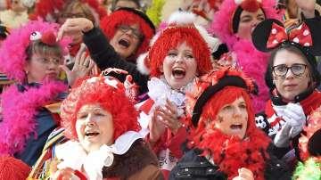 Женски карнавал в Кьолн