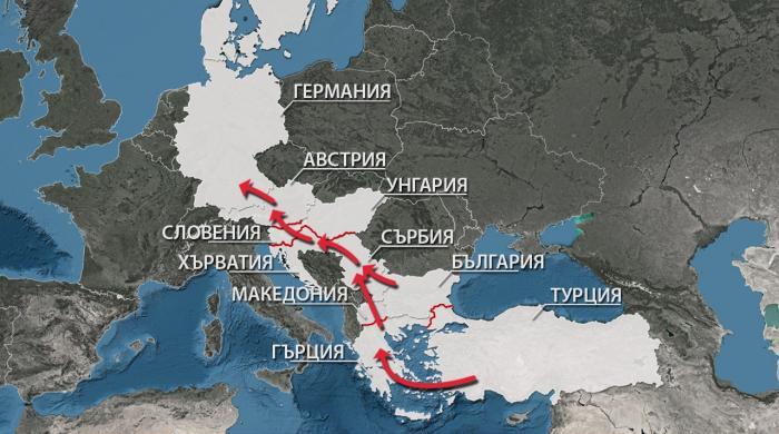 Balkanskiyat Marshrut Na Migrantite Km Evropa Po Sveta I U Nas