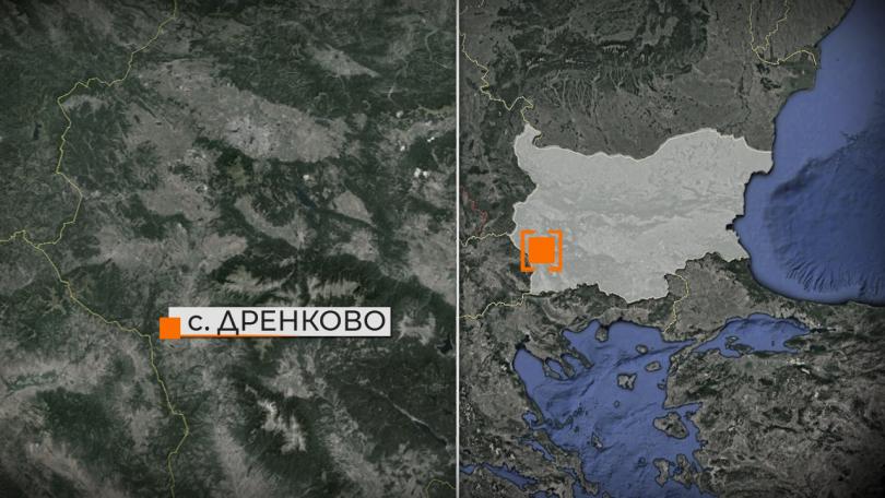 Продължава борбата с големия пожар, който избухна снощи край благоевградското