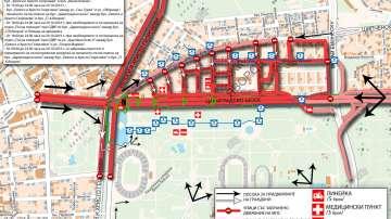 Митинг-концерт ще блокира София за повече от 24 часа