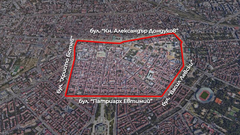 Центърът на София е затворен до 17 часа заради традиционната