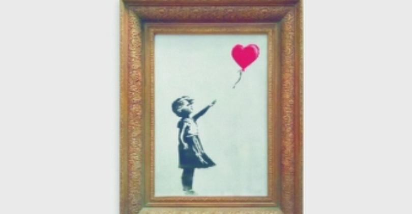 Поредна провокация на най-прочутия графити артист в света - Банкси.