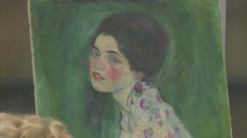 Намериха открадната картина на Густав Климт