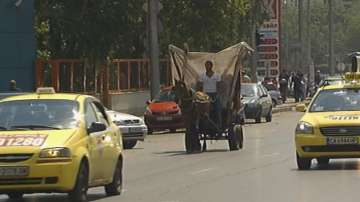 Забраняват напълно движението на каруци в централната част на София