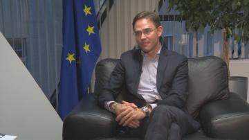 Заместник-председателят на ЕК Юрки Катайнен в специално интервю за БНТ