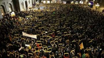 Арести на политици в Каталуния предизвикаха протести