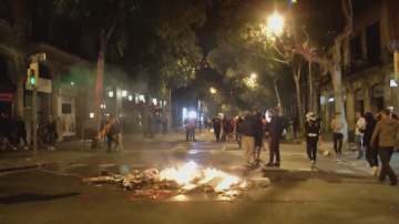 Заради протест основните булеварди на Барселона останаха блокирани с часове