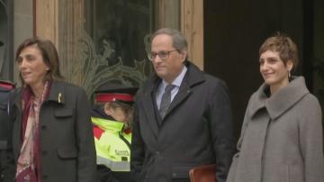 Лидерът на Каталуния се изправи пред съда