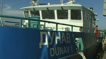 Обследват дъното на Дунав при Русе с модерен хидрографски катамаран