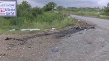 Двама младежи загинаха в тежка катастрофа край Стара Загора