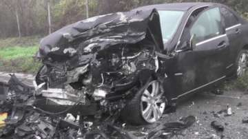 Двама души загинаха при тежка катастрофа днес на пътя Пазарджик - Белово