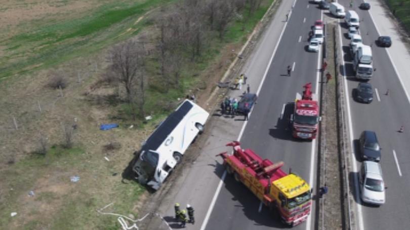 Дават на съд Цвета Таскова за автобусната катастрофа на АМ Тракия