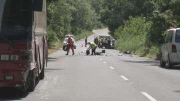 Автобус с деца катастрофира между Китен и Приморско