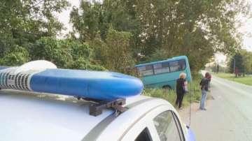 Катастрофира автобус на градския транспорт в Русе