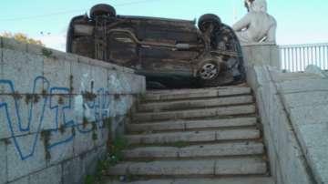 Трима души пострадаха при катастрофа в центъра на Пловдив